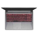 custom gaming laptop lease virginia overhead view