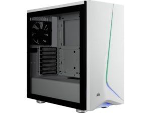 corsair crabide desktop tower case white
