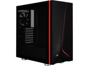 corsair carbide black desktop tower case