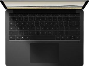 matte black laptop