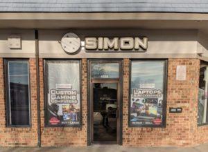 simon computers & electronics storefront